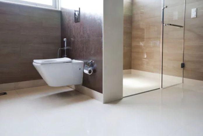 Cabina de duș și ușa de duș pentru case moderne