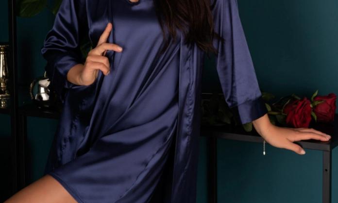 Pijamale de lux din satin
